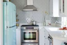 Small Kitchens / Kitchen ideas for small homes