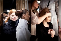 Backstage LFW / Snapshots of life behind the runway captured by Fashion156 photographers at LFW AW/12.