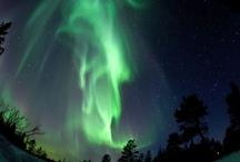 Auroras Boreales - Northern Lights - Aurora Borealis / Para los pueblos nórdicos representaciones de los espíritus, para los viajeros un sueño poder verlas, para todos un espectáculo que hay que intentar ver una vez en la vida.