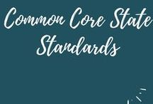 Common Core State Standards / Resources to aid educators with the implementation of the Common Core State Standards. #commoncore #CCSS