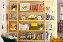 Shelve It / A collection of beautifully designed spaces using shelves to display and organise the things we treasure. ♥