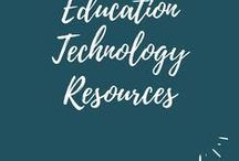 Education Technology Resources / A collection of resources including articles, blog posts, books, courses and more to help educators better use technology.