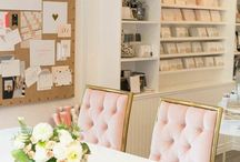 Offices & Craft Rooms / Chic office Craft Room design inspo