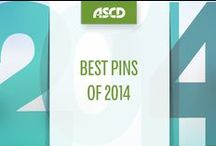 Best Pins of 2014 / Check out the most popular ASCD pins from 2014!