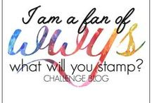What Will You Stamp (#WWYS) / Hello everyone and welcome to the What Will You Stamp Challenge Blog! Lots of us love the weekly challenge blogs that challenge you to use a particular color scheme, theme, or sketch. So after brainstorming, we realized there isn't one out there that challenges you to create based on a particular stamp set. So come over to our blog and share your creative inspiration of our stamp set of the week! http://whatwillyoustamp.blogspot.com/