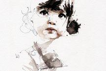 Art | Pencil | Watercolor