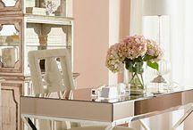 Blushing Rooms / Beautiful blushing room, blush pink bedroom, blush pink living rooms great rooms, blush offices, blush kids rooms, blush bathrooms, blush home decor, blush interiors