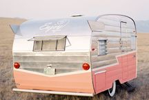 Glamping & Camping / Glamping, camping, glamorous camping, airstream trailers, renovated and remodeled trailers and campers, vintage campers, retro trailers and campers, fun camping ideas and tips, glamping 101