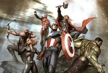 Fanart: Avengers / Drawings, paintings, comics and costumes, all about the Avengers / by The Doctor
