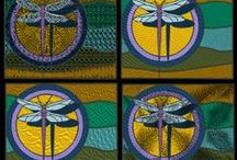 Stained Glass Machine Embroidery Designs Collection / machine embroidery designs Set of 5 embroidery designs inspired by contemporary styled stained glass patterns in 4 different variations. Find these designs at: http://cindysembroiderydesigns.com/Stained-Glass-Collection.html
