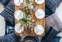 creative table setting.