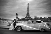 ╰☆╮Black and white wedding pictures in Paris╰☆╮ / Story of a magical wedding in the city of love.