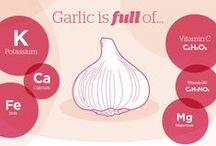Garlic / Garlic is best planted between November and April although you will generally get a bigger and better crop if you plant in the autumn