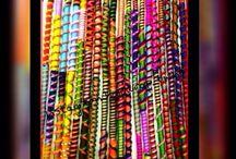 Hair wrap / Bohem gypsy hair hairwrap style