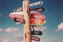 Travelogue Agenda / Travel aspirations
