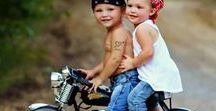 Childs and Motorcycles