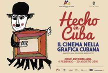 Hecho en Cuba. Il cinema nella grafica cubana. Manifesti della collezione Bardellotto / Mole Antonelliana, 4 febbraio - 29 agosto 2016 #HechoEnCuba #carteles #Cuba #poster #manifesti #cinema