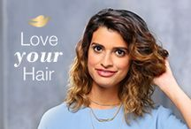 Happy Medium / Not too long, not too short–just beautifully YOU. #LoveYourHair