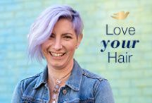 True Colors / Whether it's the color you're born with or the hue you choose, celebrate your true colors with #LoveYourHair.