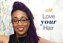 Team #LoveYourHair / Beautiful hair inspiration from members of the #LoveYourHair community.