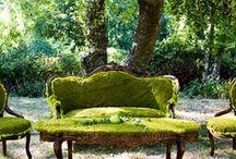 Decor verde