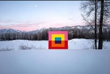 Art in nature / Designer, painters, sculptors that finding inspiration in nature