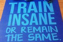 Train like the PROS... / by Banna Harju