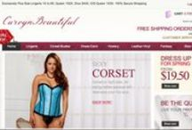 New Web Design, New Features And New Size Range: 1X to 6X, 38 to 48 / 100% Secure, Yes we Can, 100% plus Size, Yes We are...