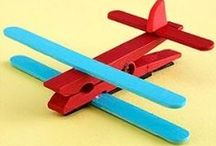 Kids Craft ideas with clothes pegs