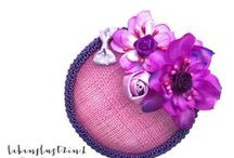 German Fascinators - floral and vintage / Lebenslust2in1 auf DaWanda.com Fascinators, Vintage Headpieces, Handmade Wedding Accessoires / Boho chic, Bohemien Style