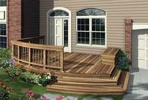front entry deck