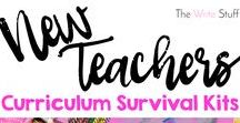 New Teachers-The Write Stuff / Helping our new teachers thrive in a busy classroom