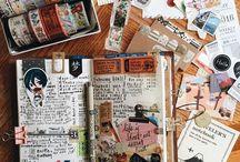 Travel Journal | Sketches | Dairy |  Moleskin | NoteBook IDEAS & DIY's