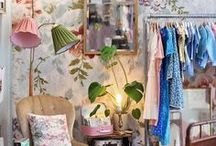 Shop interiors / Shop interiors both from our shop –and from cute shops all over the world