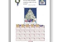 An Advent Calendar of downloadable artwork