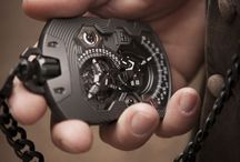 Watches & men's jewelry / Details show who you are without words! / by H.P.