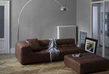 Interiores / Interiores, móveis, iluminação, decoração, plantas...