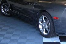 Hard Garage Tiles / Plastic garage tiles are one of the most popular modular garage floor tiles used today. Plastic tiles are made from highly durable impact resistant polypropylene and can withstand extremely heavy rolling loads to ensure that they will not crack and will last for years to come.