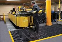 Anti-Fatigue Mats / We offer a wide variety of anti-fatigue mats that are available in various sizes, colors, and patterns. Anti-fatigue mats can be used in many different areas such as offices, garage workshops, trade shows and anywhere durable, comfortable fatigue relieving mats are preferred.