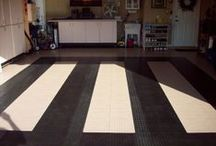 Cool DIY Flooring Installs / We like to feature many of our customer's installations using our garage tiles & mats! If you're looking for flooring inspiration for your man cave, garage, or other awesome space, you've come to the right board!