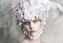 Let Them Eat Cake / Baroque fashion, shoes, hair, hats, settings and embellishments