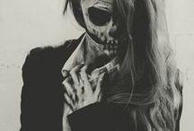 H A L L O W E E N   I N S P O / Halloween makeup & costume ideas