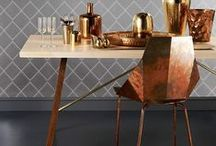Cool Copper / Copper/Gold/Bronze/Metallics are a trend we can get behind.