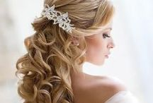 Brides hairstyle ideas / Brides hairstyle inspiration for you