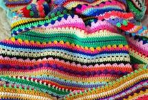 Ideas para mantas Crochet
