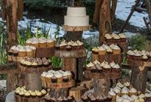 Forest Wedding Reception Decor / Hidden Creek and Cedar Creek both have amazing wedding reception sites.  If you are looking for some forest wedding reception inspiration, you can find it at our rustic wedding venues near Lake Arrowhead, California. Let the forest be your decor!