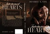 Intertwined Hearts / If you read the Lust, Desire, and Love Trilogy, you already met Hunter and Jackie. On July 29th you can read their story – Intertwined Hearts!