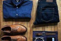 Moda męska / Propozycje stylizacji dla modnego, nowoczesnego dżentelmena.