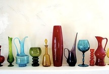 all things glass / from stained glass windows to coloured bottles and beautiful suncatches
