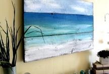 Driftwood/Sea glass